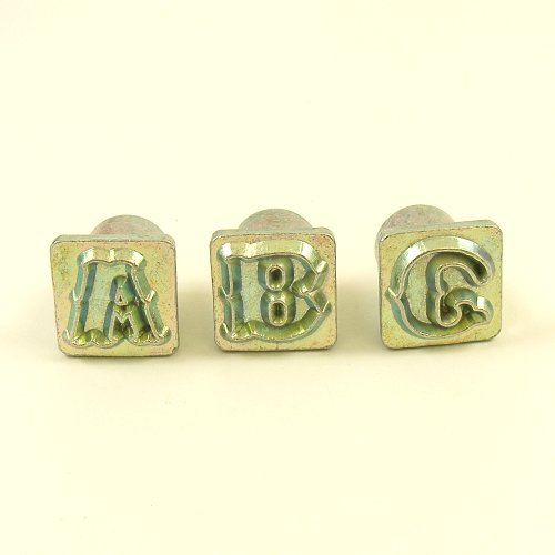 12mm Decorative Letter Embossing Stamps