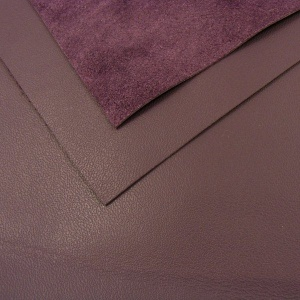 0.6mm Dark Purple Cow Nappa A4