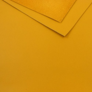 1.1mm Mustard Yellow Leather A4