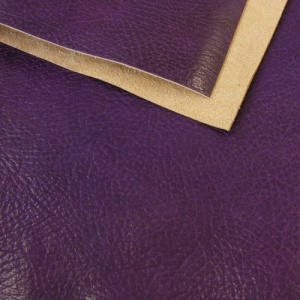 1.2mm Glossy Crease Texture Veg Tanned Purple A4