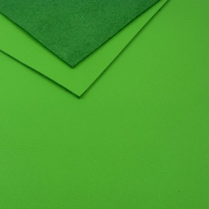 1.2mm Bright Green Leather 30x60cm