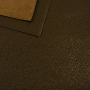 1.1mm Soft Brown Fine Crease Leather A4