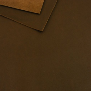 1.8mm Dark Brown Leather A4 Size