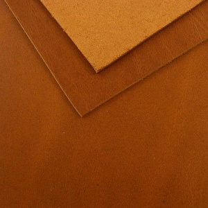 1.8mm Oily Mid Tan Vegetable Tanned Leather 30 x 60cm