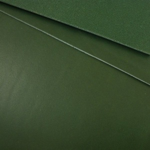 1.8-2mm TO CLEAR Green Vegetable Tanned Leather A4 Size