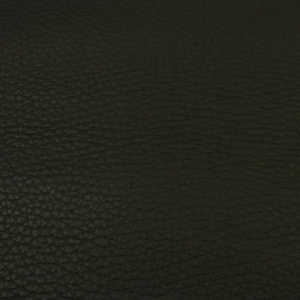 REDUCED TO CLEAR 2.2mm Chunky Textured Black Leather 30x60cm