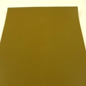 2.2mm Heavyweight Light Olive Green Leather A4