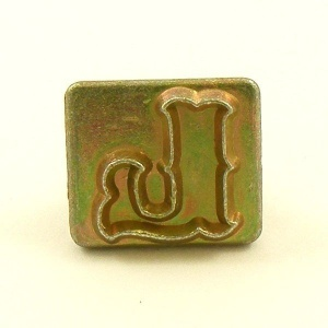 20mm Letter L Embossing Stamp