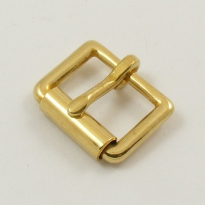 19mm 3/4''  Cast Brass Roller Buckle