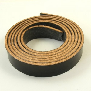 Very Dark Brown 3mm Saddlery Leather Strips