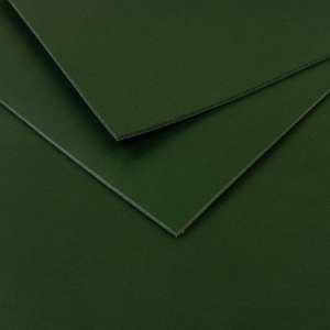 2.8-3mm Green Vegetable Tanned Cowhide A4