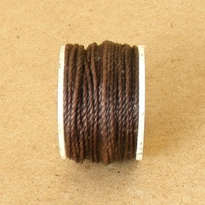 Auto Awl Thread Reel Brown
