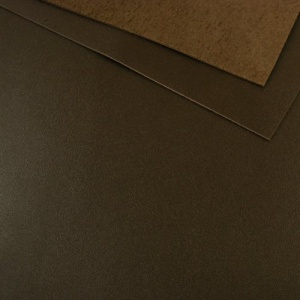 1.2 - 1.4mm Dark Brown Calf Leather A4
