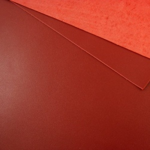 1.2 - 1.4mm Dark Red Calf Leather 30 x 60cm