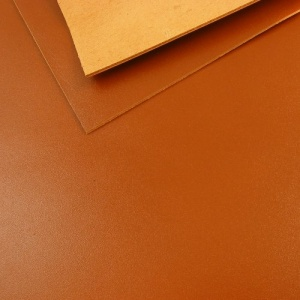 1.2 - 1.4mm Tan Calf Leather A4