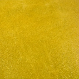1.6mm SALE Lemon Yellow Crease Textured Leather 30x60cm