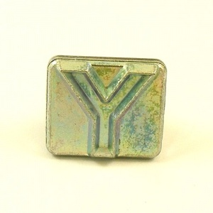 20mm Modern Letter Y Embossing Stamp