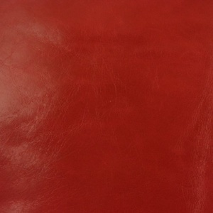 0.8-1mm Glossy Cowhide Red 30x60cm
