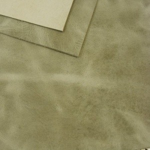 2mm Grey Rustic Style Leather 30 x 60cm