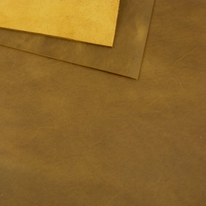 2mm Mid Brown Rustic Style Leather 30 x 60cm