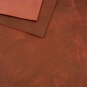 2mm Red Grape Rustic Style Leather 30 x 60cm