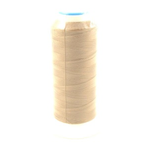Beige Light Brown Nylon Thread for Machine Sewing Leather