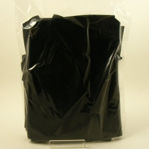 Black Leather Pieces 500g Bag