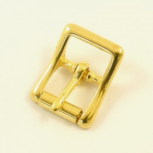 12mm Cast Brass Whole Roller Buckle