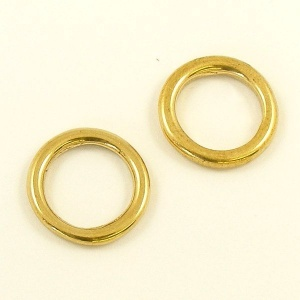 Cast Brass Ring 12mm