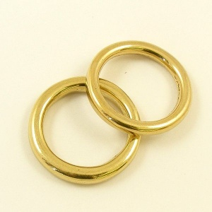 Cast Brass Ring 25mm