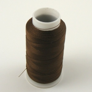 Dark Brown Nylon Thread for Machine Sewing Leather