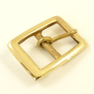 Flat Rectangle Belt Buckle 25mm