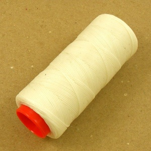 Heavy 1mm Synthetic Thread White