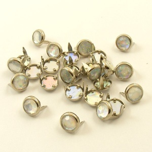 IRRIDESCENT Crystal Studs 10mm