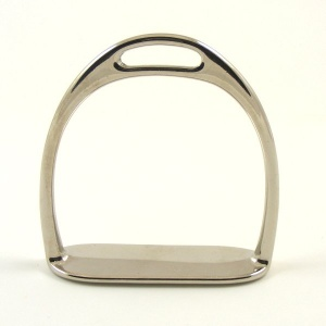Nickel Silver Rocking Horse Stirrups