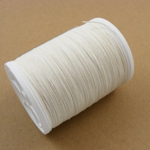 Off White Linen Sewing Thread For Leather