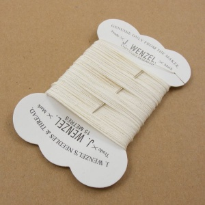 Off White Linen Wenzel Carded Thread