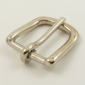 Silver (Nickel Plated) Belt Buckle 1 inch 25mm
