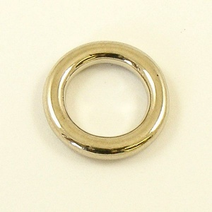 Solid Stainless Steel Ring 12mm