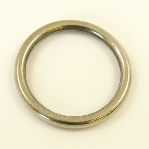 Solid Stainless Steel Ring 38mm