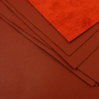 0.6mm Dark Red Cow Nappa A4