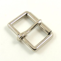 38mm 1 1/2'' Nickel Plated Roller Buckle