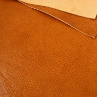 1.2mm Glossy Crease Texture Veg Tanned Tan A4