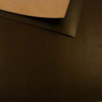 1.8-2mm Vegetable Tanned Cowhide Dark Brown A4