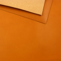 1.8-2mm Vegetable Tanned Cowhide Cashew Light Tan A4