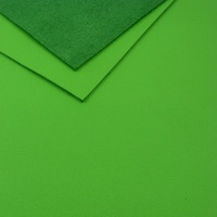 1.2mm Bright Green Leather A4