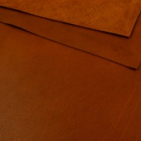 1.2mm Rich Tan Natural Grain Leather A4
