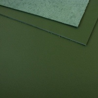 1.3mm Bottle Green Leather 30x60cm