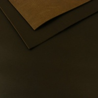 1.6mm Natural Dark Brown Leather 30x60cm