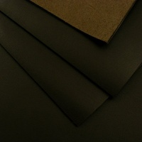 1.6mm SALE Smooth Dark Brown Leather 30x60cm